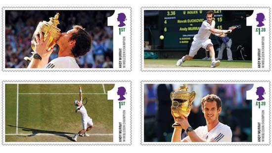 Postzegels Andy Murray