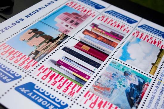 Postzegelvel