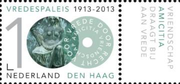 100 jaar Vredespaleis - Amicitia + tab