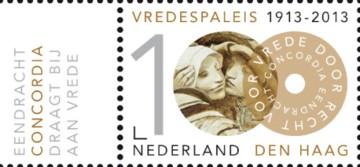 100 jaar Vredespaleis - Concordia + tab
