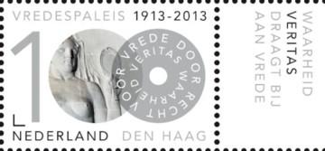 100 jaar Vredespaleis -  Veritas + tab