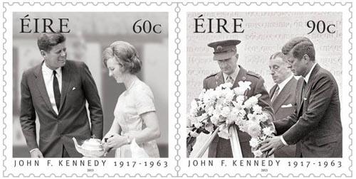 Kennedy postzegels Ierland 2013