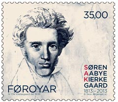 Kierkegaard postzegel 2013