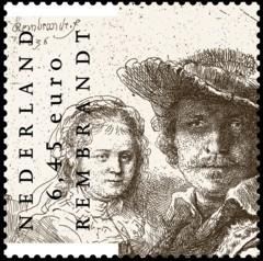 NVPH 2434 - Rembrandt