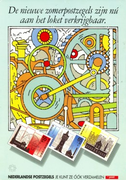 affiche zomerzegel 1987
