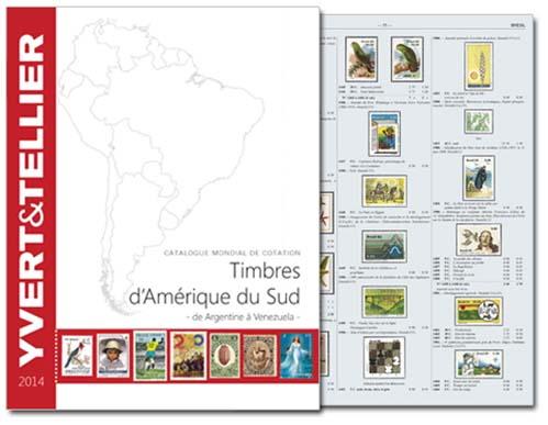 Yvert Zuid Amerika catalogus