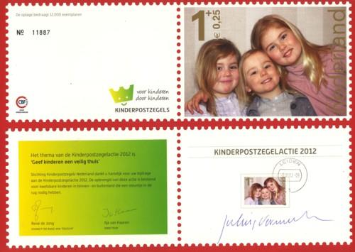 kinderbedankkaart 2012