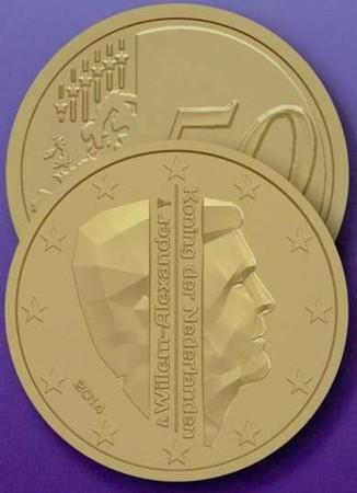 Nieuwe Euromunt 50cent