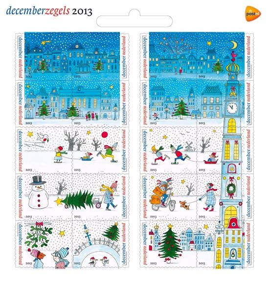 kerstpostzegels