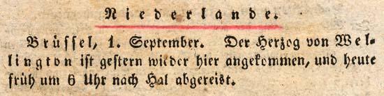 Bericht 1 september 1823