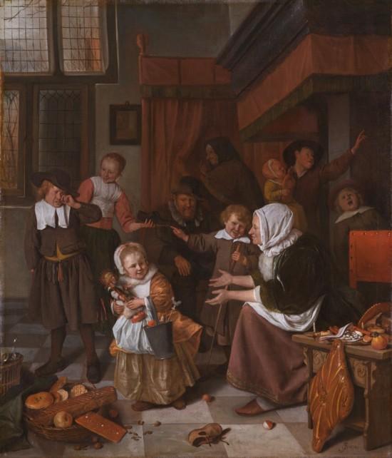 Het Sint Nicolaasfeest - Jan Steen