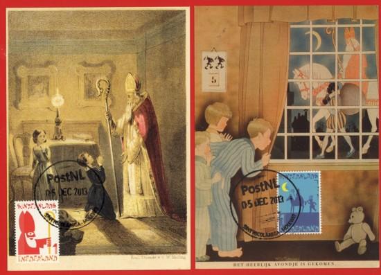 Maximum kaarten Sint Nicolaas (1)