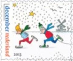 Schaatsers Decemberzegels 2013