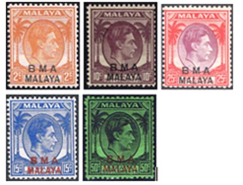 5 cents Straits