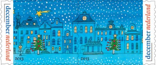Duo-postzegels - Decemberzegels 2013 (1)