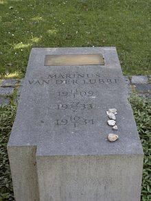 Gedenksteen van der Lubbe