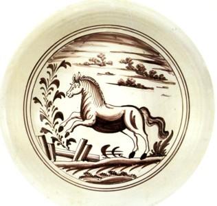 VI  133 paard op bord