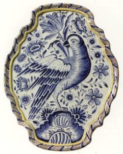 VI   63 papegaai schild