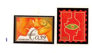 Postzegelcombinatie 1