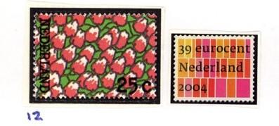 Postzegelcombinatie 12
