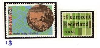 Postzegelcombinatie 13
