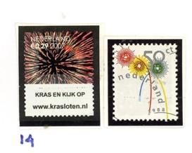 Postzegelcombinatie 14