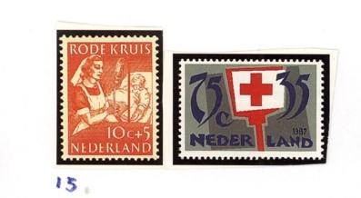 Postzegelcombinatie 15