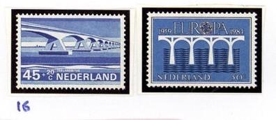 Postzegelcombinatie 16
