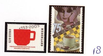 Postzegelcombinatie 18