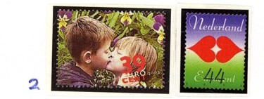 Postzegelcombinatie 2