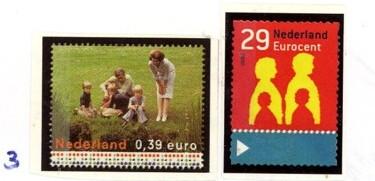 Postzegelcombinatie 3