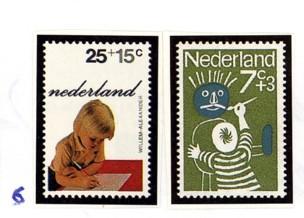 Postzegelcombinatie 6