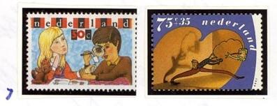 Postzegelcombinatie 7