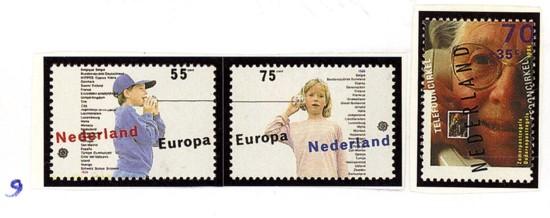Postzegelcombinatie 9