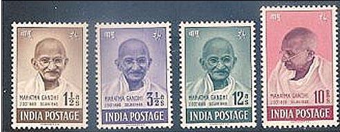 Gandhi postzegelserrie