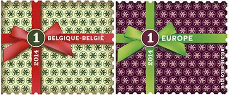 27 oktober Kerstmis Nationaal postzegels