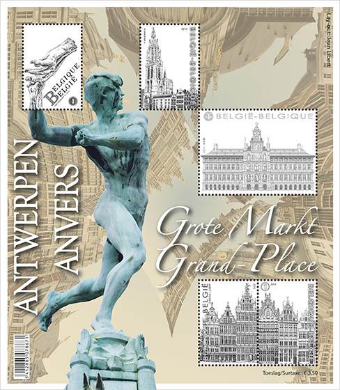 8 september De Antwerpse Grote Markt - Het volledige vel