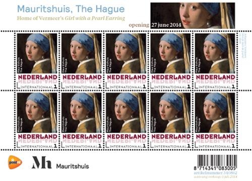 Persoonlijke Postzegels Mauritshuis