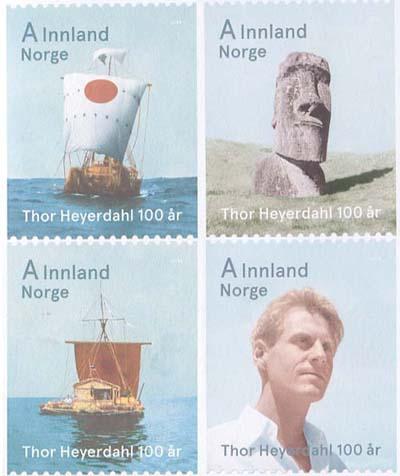 Noorwegen postzegels Paaseiland