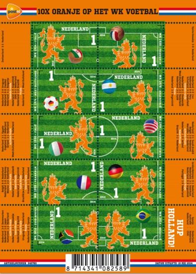 Vel 10X Oranje op het WK voetbal