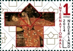 Grenzeloos Nederland-Japan - De rode kimono