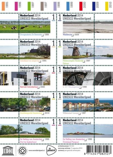 PostNL Werelderfgoedvel