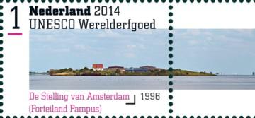 UNESCO Werelderfgoed 2014 - De Stelling van Amsterdam (Forteiland Pampus)