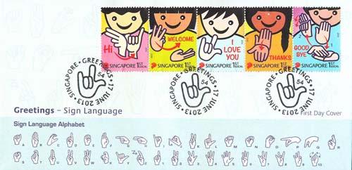 is gebarentaal internationaal