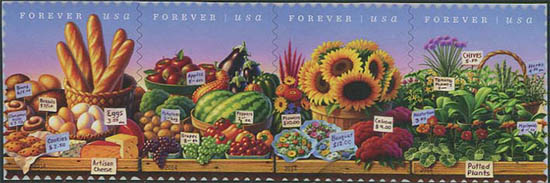 USA postzegel