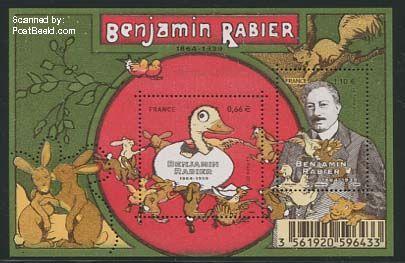 Benjamin Rabier postzegel