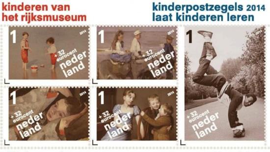 vel Kinderpostzegels 2014