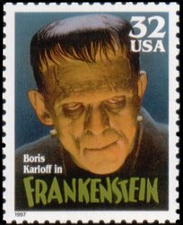 frankenstein postzegel 1997 USA