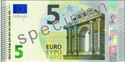 Biljet van € 5,-