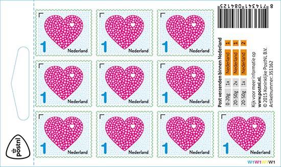Liefde postzegel